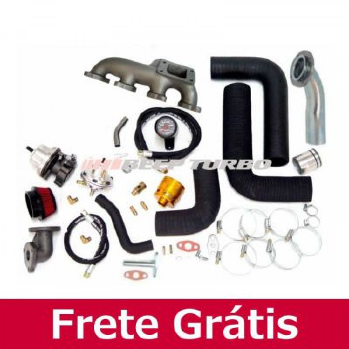 Turbo Kit Opel Vectra: MPFI 2.0 C/ Med. Massa T3