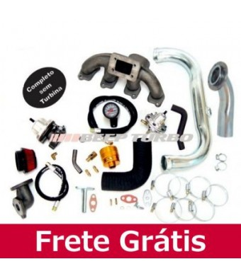 Kit Turbo Transversal - Astra/ Kadett ( MPFI ) C/ Med. Massa T3