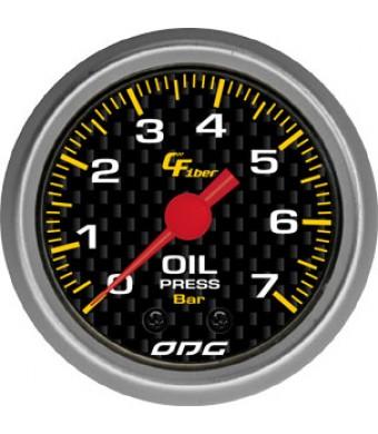 Manômetro Carbon Oil 52mm
