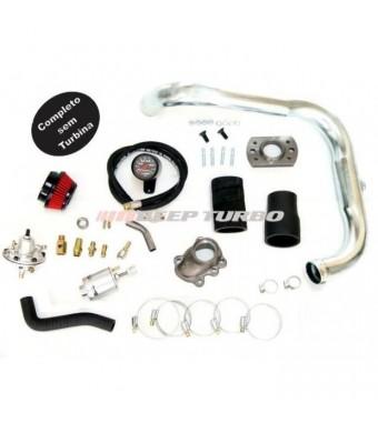 Kit Turbo Corsa 1.6 MPFI - Flange T2