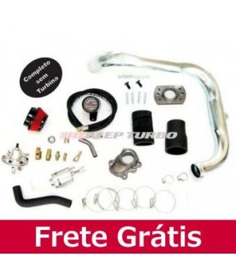Kit Turbo Corsa - Celta 1.0 MPFI - Flange T2