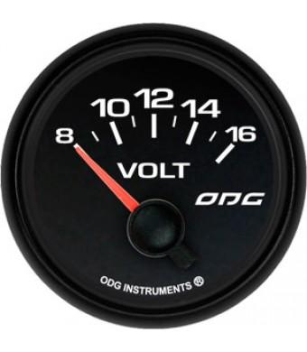 Indicador Dakar Full Color Volt 52 mm