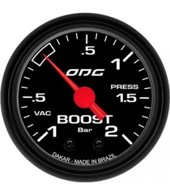 Manômetro Dakar Boost 52mm