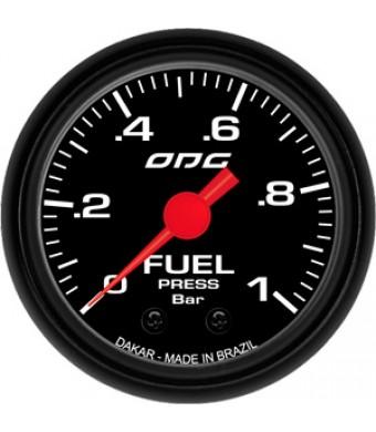 Manômetro Dakar Fuel 52mm