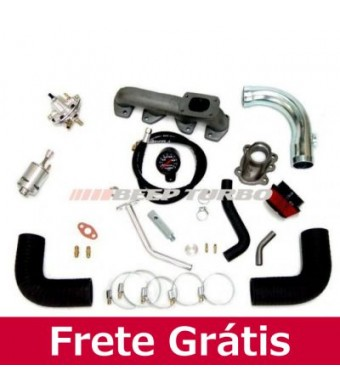 Kit Turbo Fiat Fire - Transversal - 1.0/1.4 - 8V - Palio / Uno T2