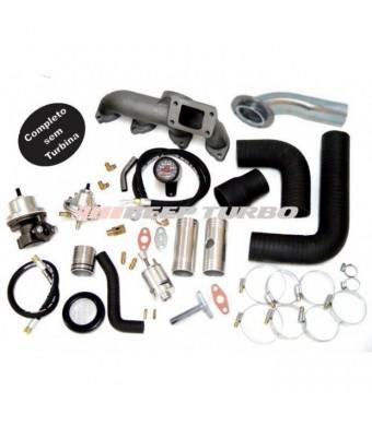 Kit Turbo Omega 2.2 / S10 2.4 ( Injeção  MPFI ) T3