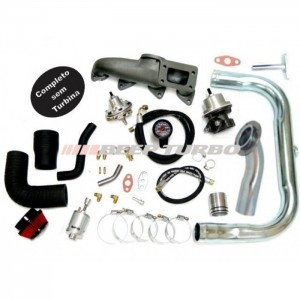 Kit Turbo Astra - Vectra 2.0 - 2.2 - 8V  (ATÉ 2002) T3