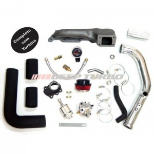 Kit Turbo AT 1.0 16v - Upgrade Gol - Parati Turbo