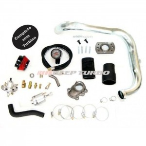 Kit Turbo Corsa - Celta 1.0 MPFI - Flange T2