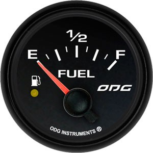 Indicador Dakar Full Color Fuel Level 52 mm