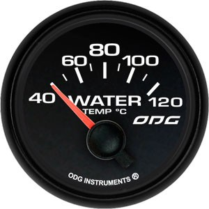 Indicador Dakar Full Color Water Temp 52 mm