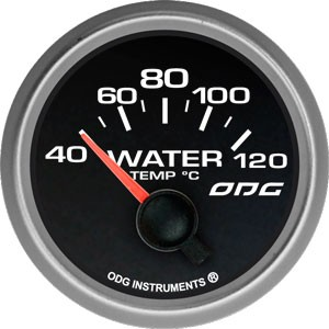 Indicador Evolution Full Color Water Temp 52 mm