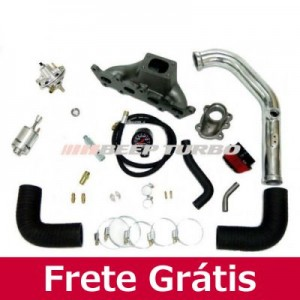 Kit Turbo Fiat Fire - Transversal - 1.0 / 1.3 - 16V -  Palio / Uno T2