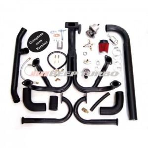 Kit turbo VW - AR - Fusca 1.8 - Carburação Dupla - T3
