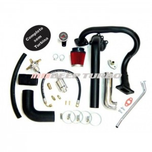 Kit turbo VW - AR - Fusca 1.5/1.6 Carb. Simples/Injeção