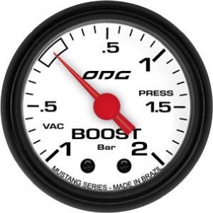 Manômetro Mustang Boost 52mm