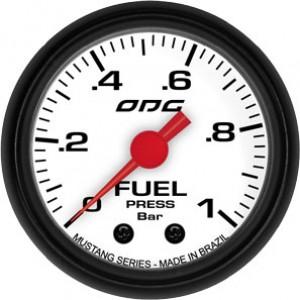 Manômetro Mustang Fuel 52mm