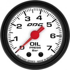 Manômetro Mustang Oil 52mm