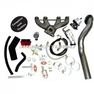 Kit Turbo AP - Pulsativo  P/ Cima - Carburado - 1.8 / 1.9 / 2.0 T3