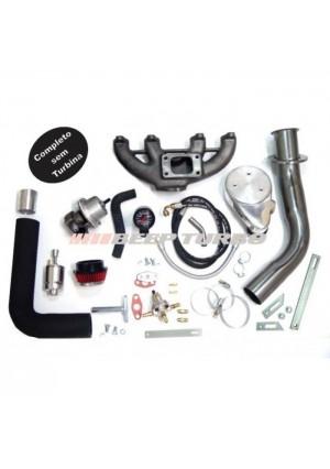 Kit Turbo AP Carburado Ar+Dh T3 - Gol - Parati - Saveiro - Voyage