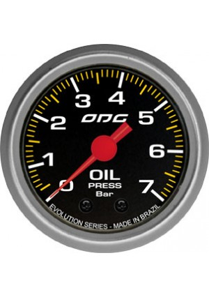 Manômetro Evolution Oil 52mm